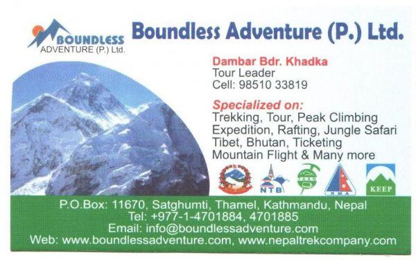 Nepal travel and trekking agency.